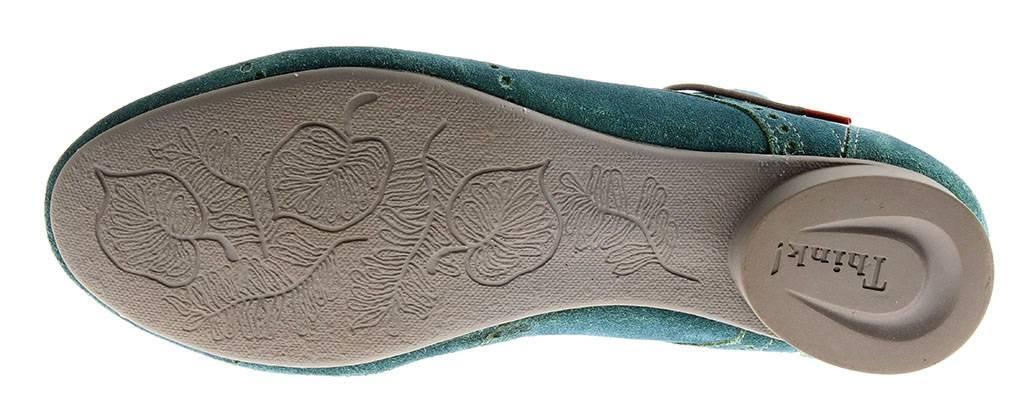 schnürschuhe zapatos de piel SEÑORA Zapatos Cuero Guad 4-84280 turquesa Think