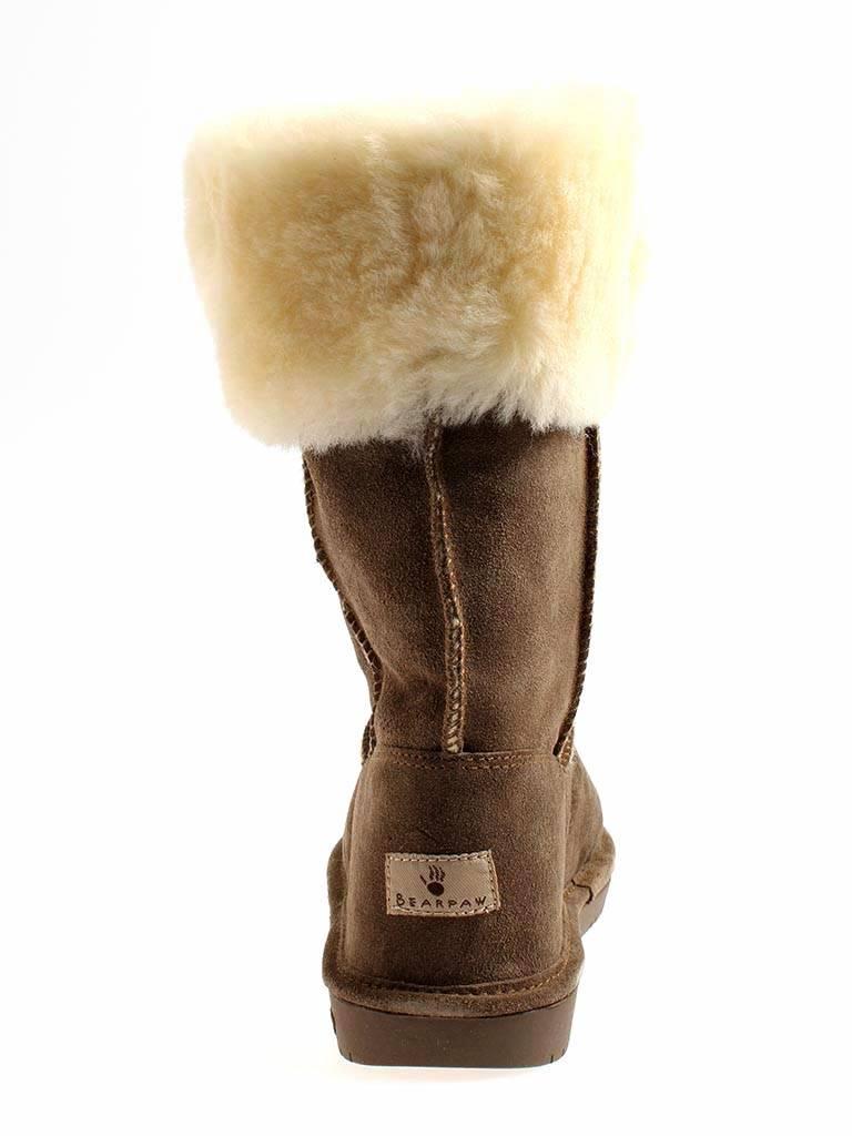 Bearpaw Lammfelstiefel Winterstiefel Leder Lammfell Damen Marissa Boots