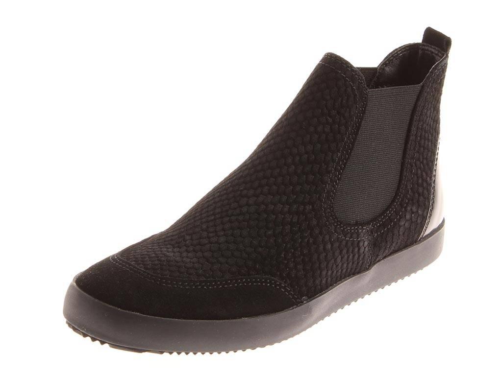 Tamaris 1-25849-35 klassische Chelsea Stiefel Stiefelette schwarz