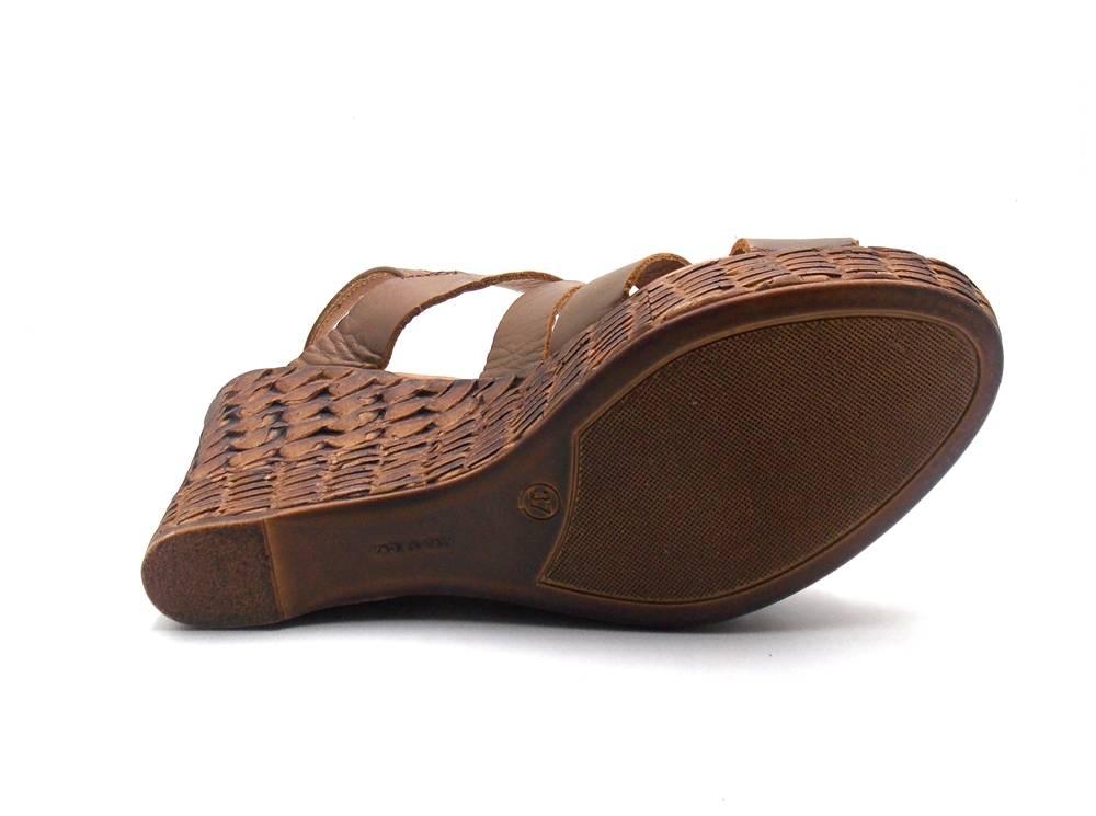 Innocent Keilsandalette 10.040-01 Sandalette Damensandale Schuhe Damen 10.040-01 Keilsandalette Tabaco 4b2a80