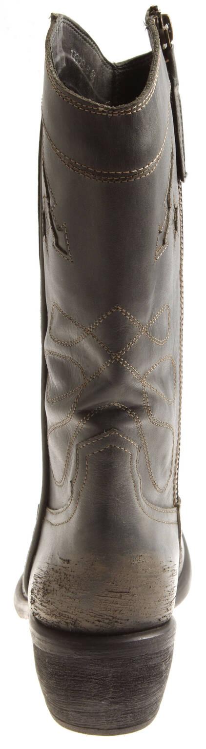 Indexbild 10 - Bronx Damen Leder Cowboy Stiefel 13323 Winterstiefel Schuhe Lederstiefel