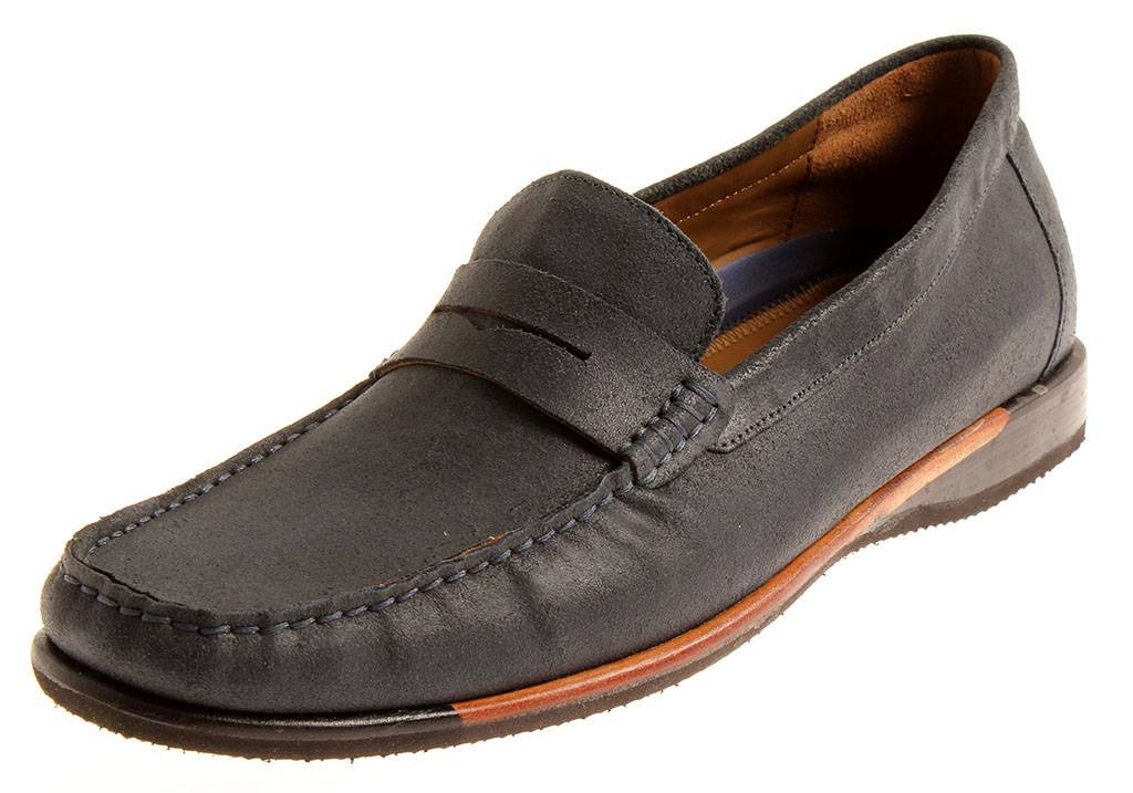 Manz Herren 139011 Messina Mok Weite H Herrenschuhe Mokassin Leder Schuhe Wechse