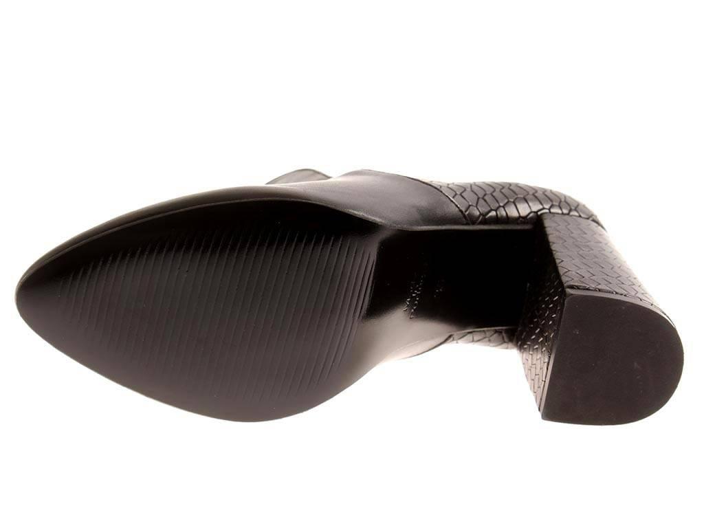 Nata scarpe Portogallo altamente FRONT décolleté décolleté scarpe in in in pelle tacco alto 1451-28 7b3392
