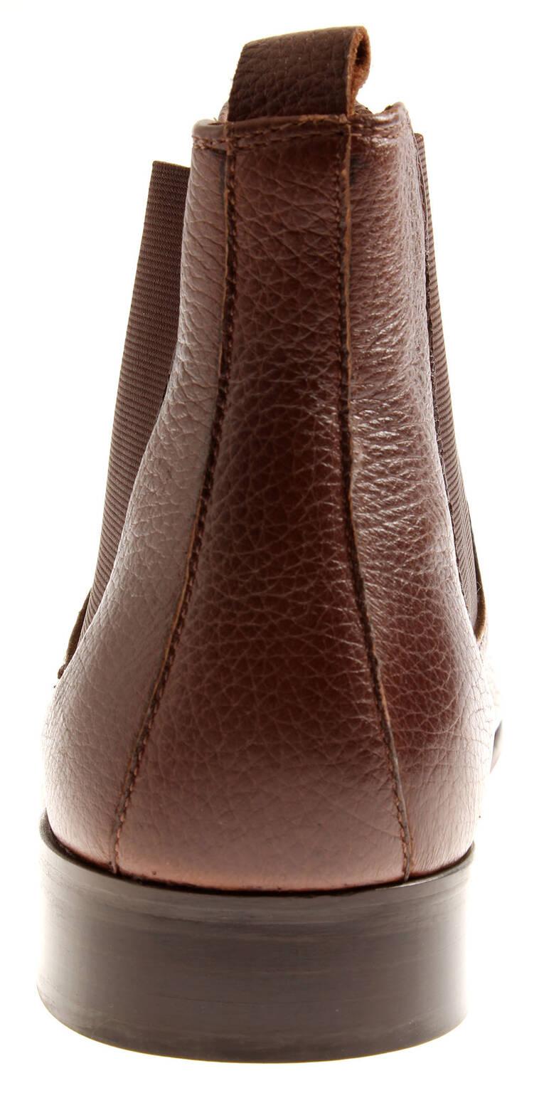 size 40 b30c2 e642d Details zu Manz Herren 147020 Schuhe Schnürschuhe Leder Hirschleder Chelsea  Boots Weite H