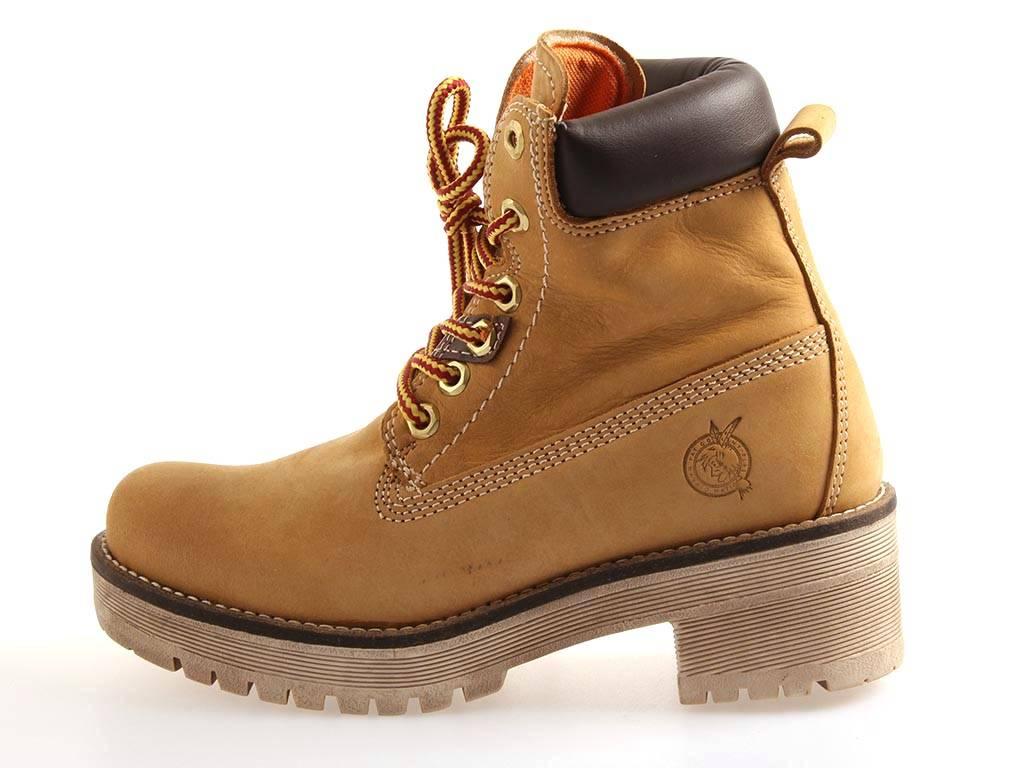 3483ac4806b FAT Company Mujer combatboots Zapatos De Cordones Botas Con piel ...