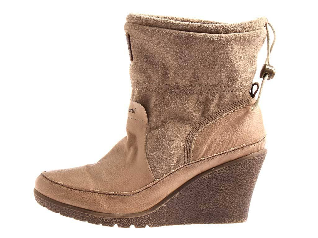 Le Coq Leder Sportif Keilstiefelette Stiefelette Lederstiefelette Leder Coq Schuhe 1711 3791ce
