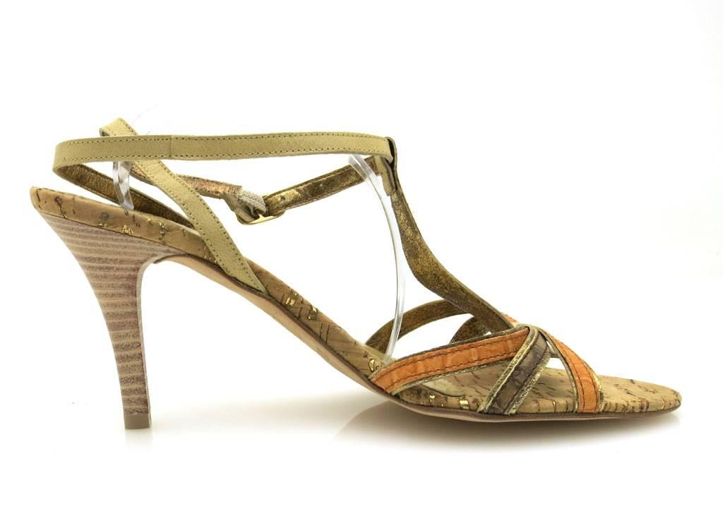 Unisa-elegante-Lederpumps-Pumps-Damenschuhe-mehrfarbig-Sommerschuhe-1776 miniatuur 9