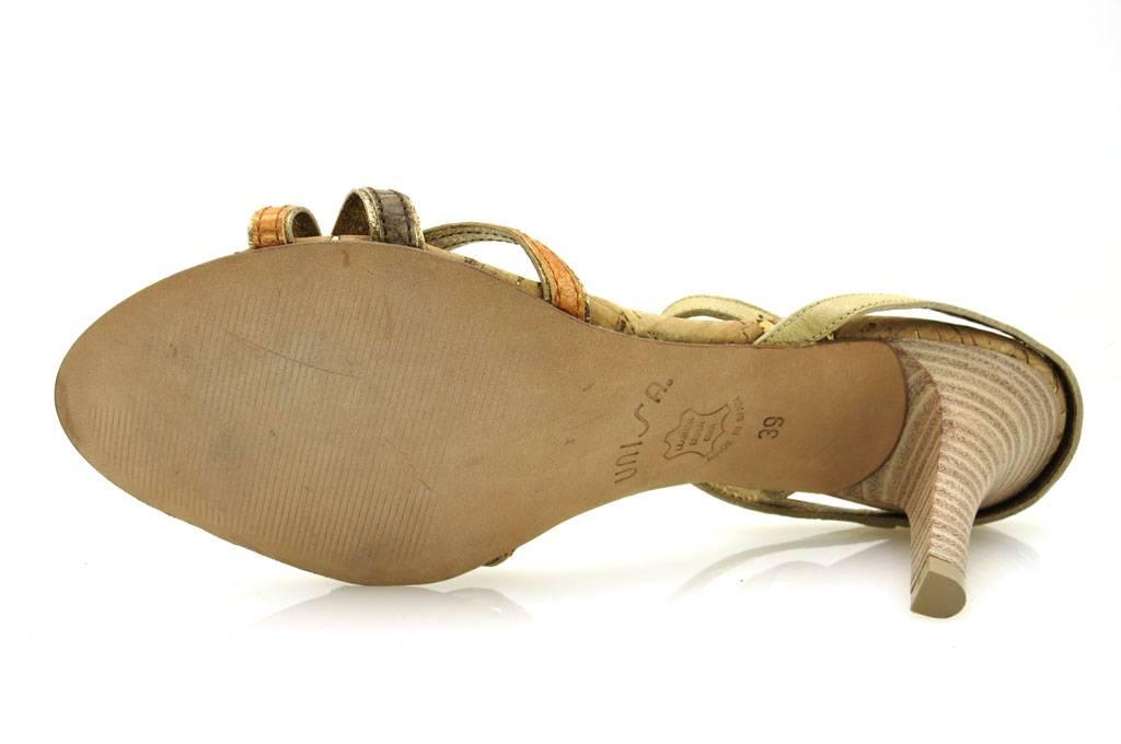 Unisa-elegante-Lederpumps-Pumps-Damenschuhe-mehrfarbig-Sommerschuhe-1776 miniatuur 12