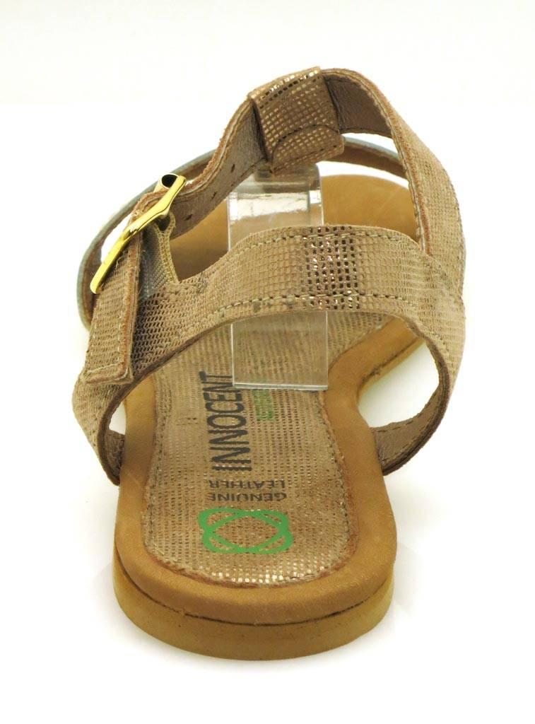 Innocent confort sandales SANDALE EN CUIR CHAUSSURES EN CUIR été bois 184-ad04 - conhac, 38 EU