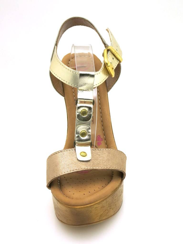 Innocent High Heel Sandalette Sandale 188-SS02 Leder Schuhe Damen T-Stripe 188-SS02 Sandale 88fd35