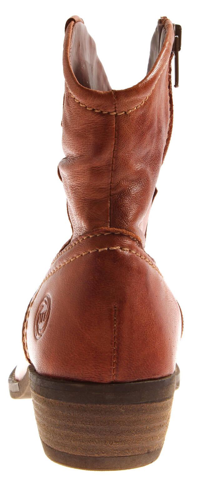 cdb6bf88b Marco Tozzi 2-25064 Botines Mujer Zapatos Mujer Cowboy Botas de Piel ...