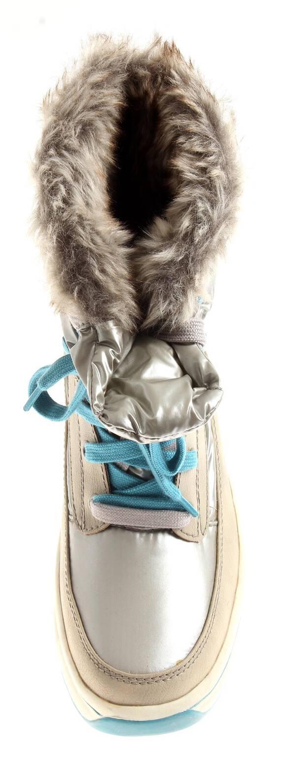 Tamaris 1 26227 Damen Winter Boots Snow Boot Winterschuhe Duo Tex silber 2.te Wahl EU 41