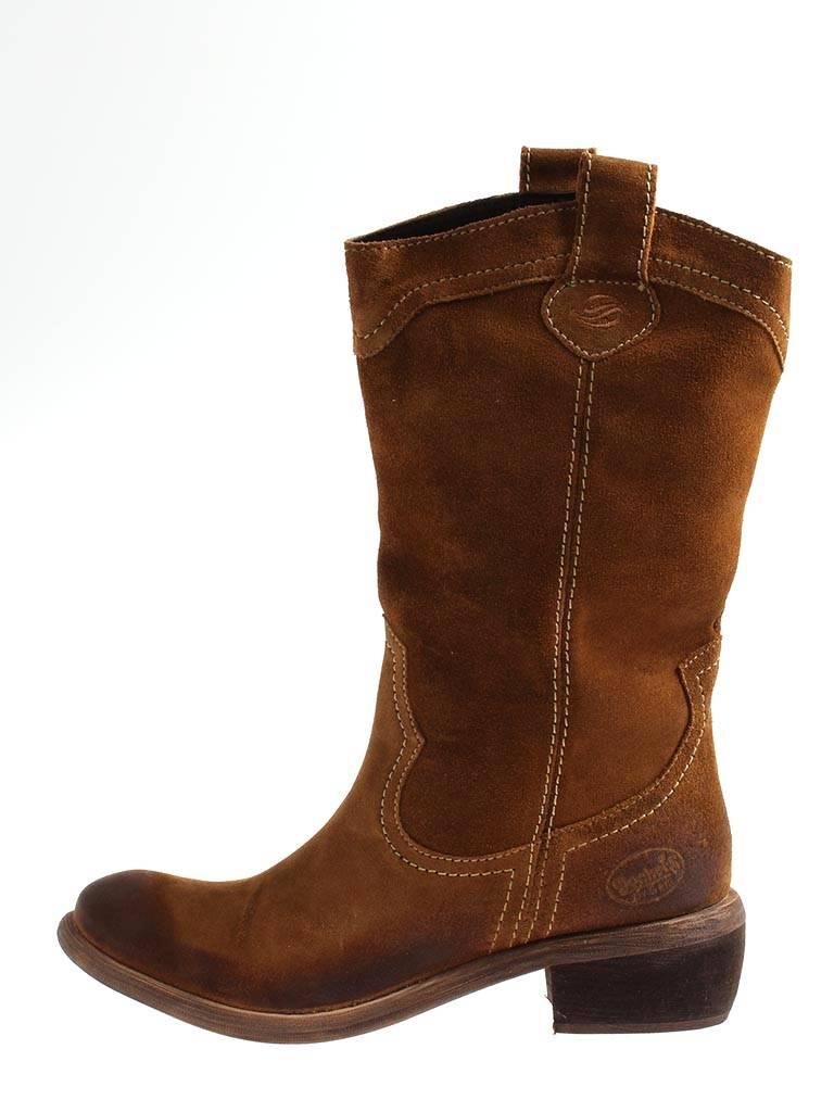 Dockers Westernstiefel Cowboystiefel 254302-141017 Westernstiefel Dockers Lederstiefel Stiefel Damen 76bfe7