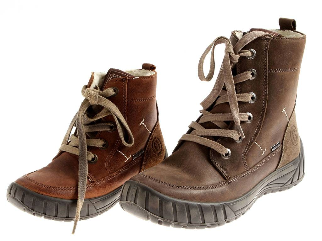 cb08422e6b24a Imac Chaussures Garçon Bottes D Hiver Chaussures en Cuir Doublé Imactex