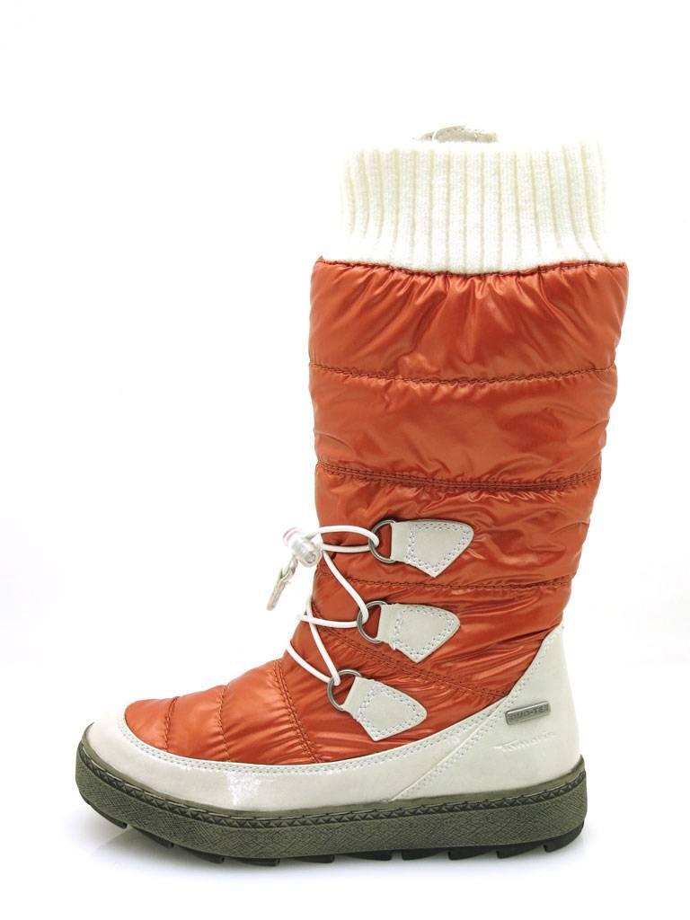 Details zu Tamaris Snowboots Stiefel Winterstiefel Damenschuhe Tex Membran 1 26638 Orange