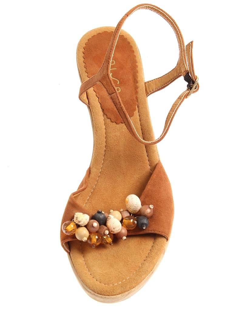 Unisa Sandalette aus Leder Wildleder Sommerschuhe Damenschuhe Wildleder Leder 2963 2c76de