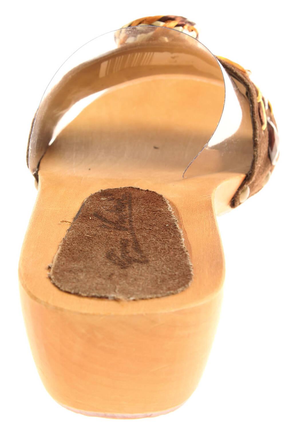 vendite calde scegli originale buona qualità Dettagli su Gino Ventori 3020 Ciabatte Donna Ciabatte Scarpe Zoccoli Legno  Pantofole