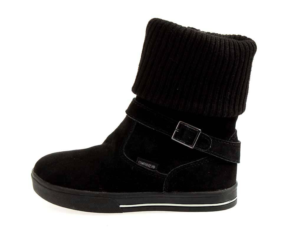 nouveau style 5fa04 52b22 Détails sur Lico Bottes pour Jeunes Filles Chaussures pour Fille Bottes en  Cuir Noir