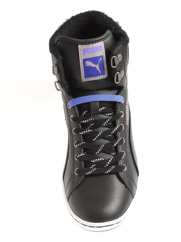 Puma First Round Winterized wms gefüttert 354931 Damen sportliche Sneaker gefüttert wms black f12df6