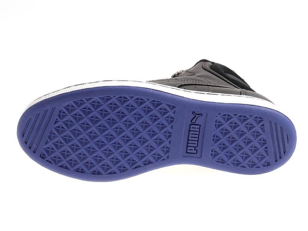 best service 3ca02 9f326 Details zu Puma First Round Winterized wms 354931 Damen sportliche Sneaker  gefüttert black