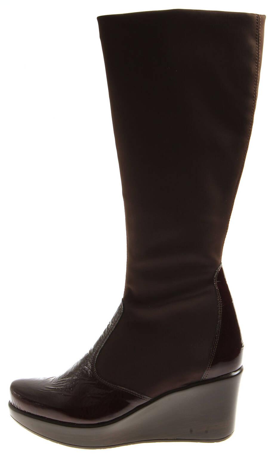 Bottes En 38001 Modèle Cuir Shine Femmes Chaussures Strechstiefel Naot YUzC8xwq8