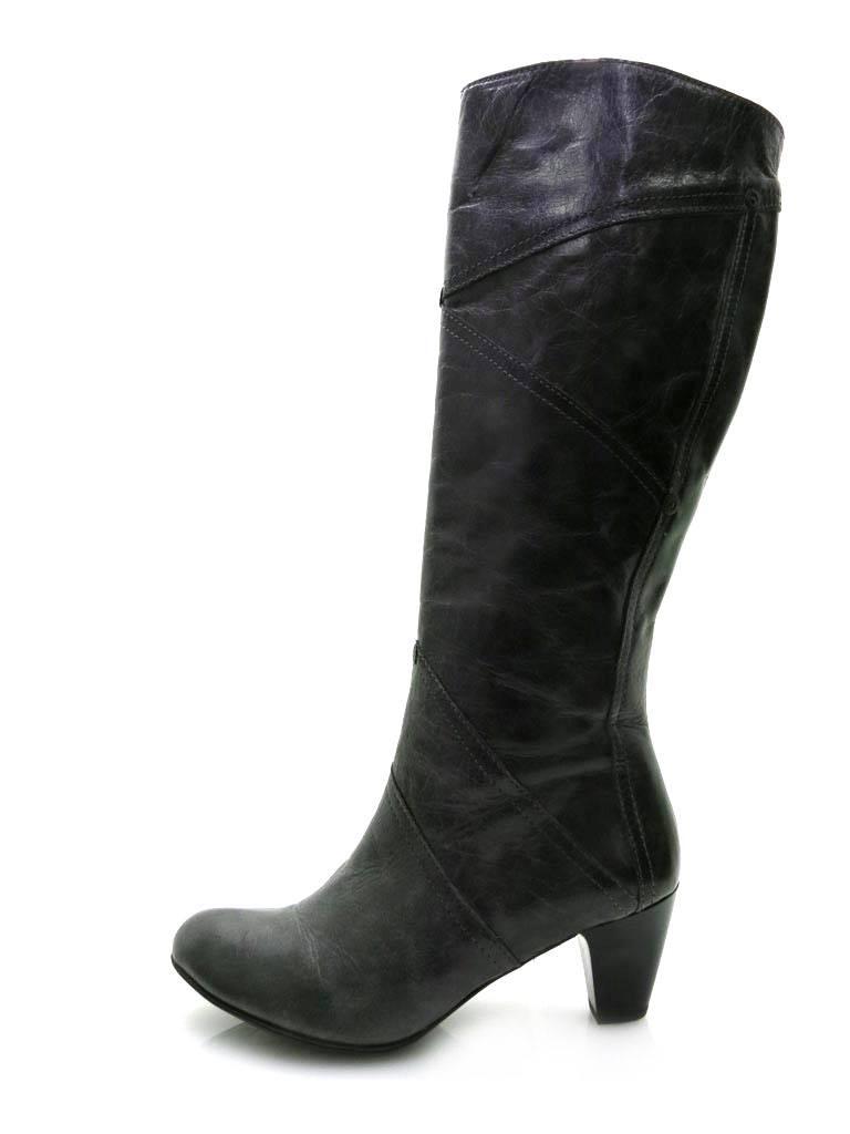 Lamica Engschaftstiefel Schuhe Lederstiefel Stiefel Damenschuhe Lederschuhe Schuhe Engschaftstiefel grau fb7e95