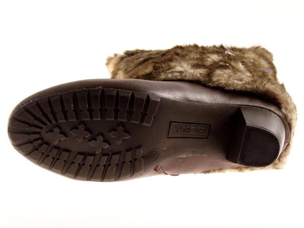 Rosso BOXX Stivali Stivali Stivali Stivali da donna in pelliccia ecologica stivali invernali Scarpe 3.527.11 1ece53
