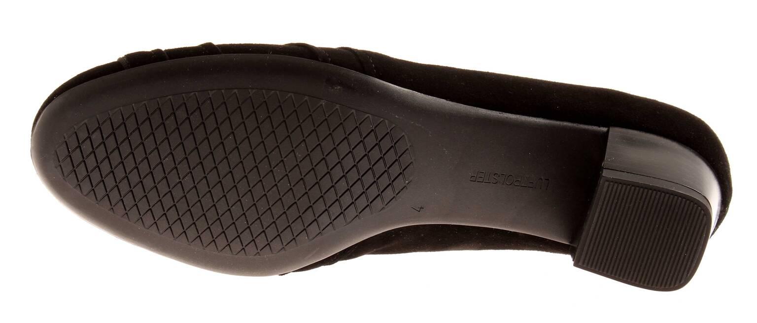Ara Lederpumps Pumps Pumps Pumps Damenschuhe Schuhe moro schwarz Wildleder 3d5155