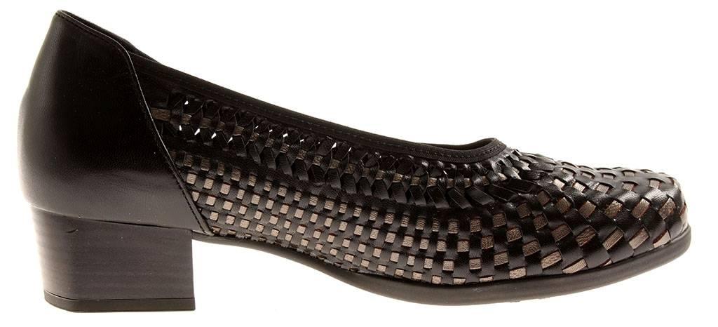 Solidus Comfort Pumps Damenschuhe Leder Schuhe Mira 55045