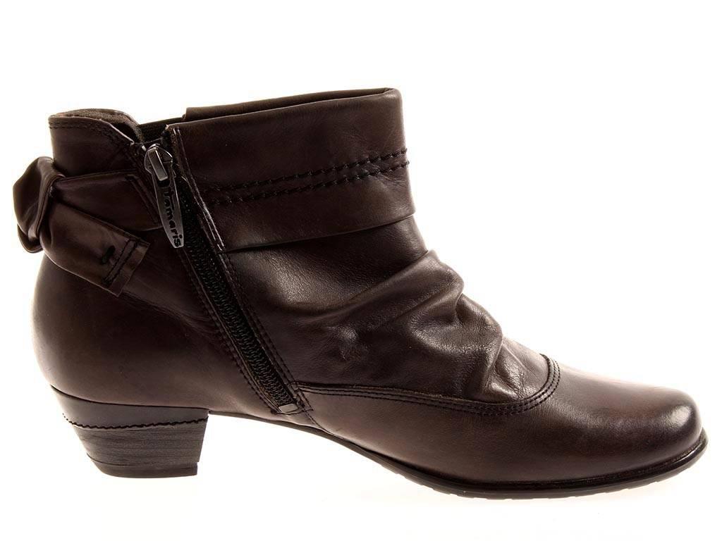 Tamaris kurze Stiefelette Damenschuhe Schuhe Lederstiefelette 1-25325