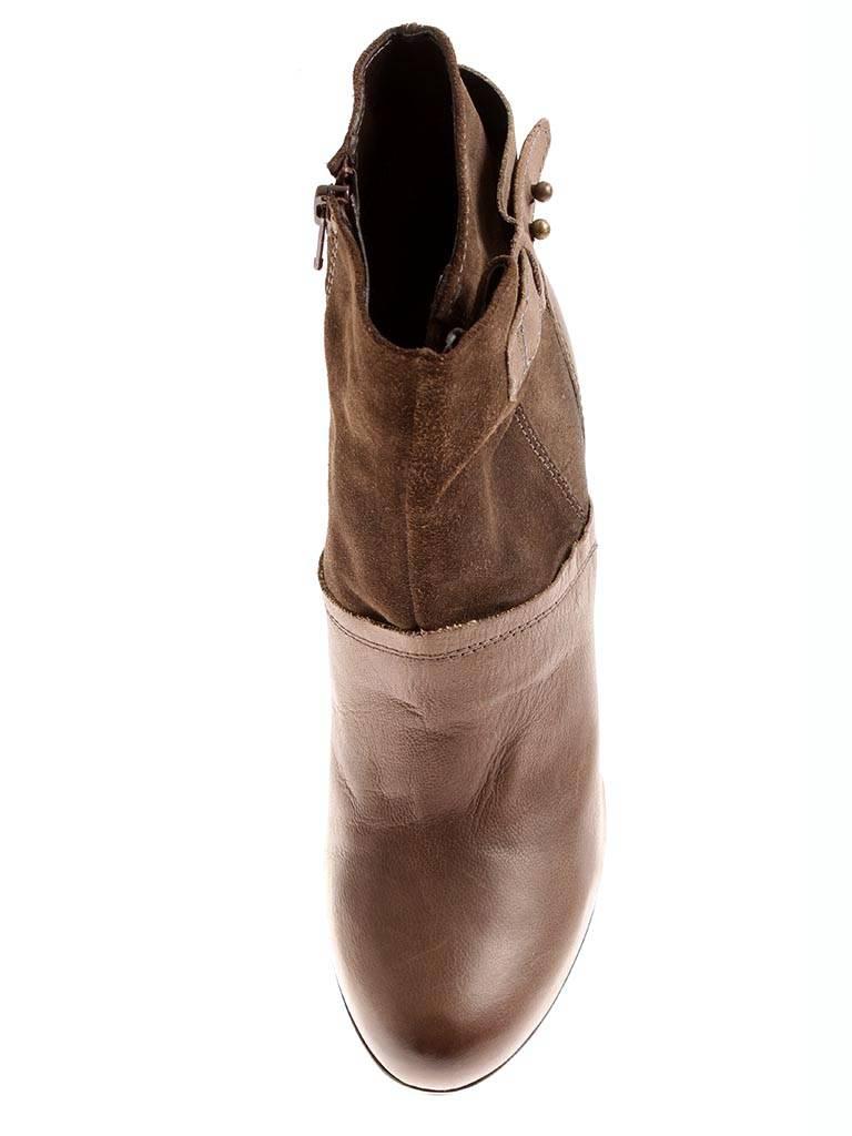 Isabelle Lederstiefelette Stiefeletten Damen Schuh Schuh Damen Business 6043 braun 0df2dd