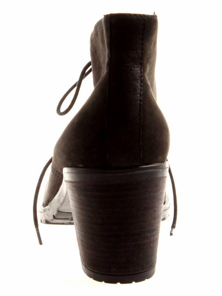 Isabelle schwarz Stiefelette Ankleboots Damenschuhe Schuhe schwarz Isabelle Nubuk Leder 3762bb