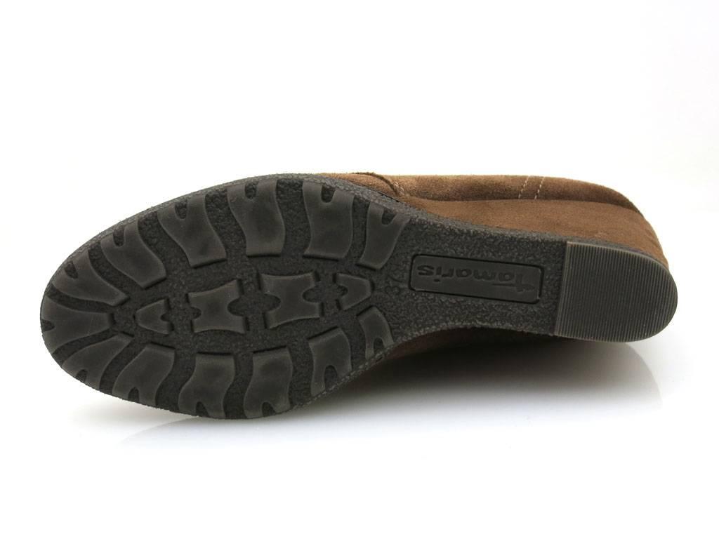 Tamaris Wedge Keilstiefelette Lederstiefelette Stiefelette Lederstiefelette Keilstiefelette Leder Schuhe bf4445