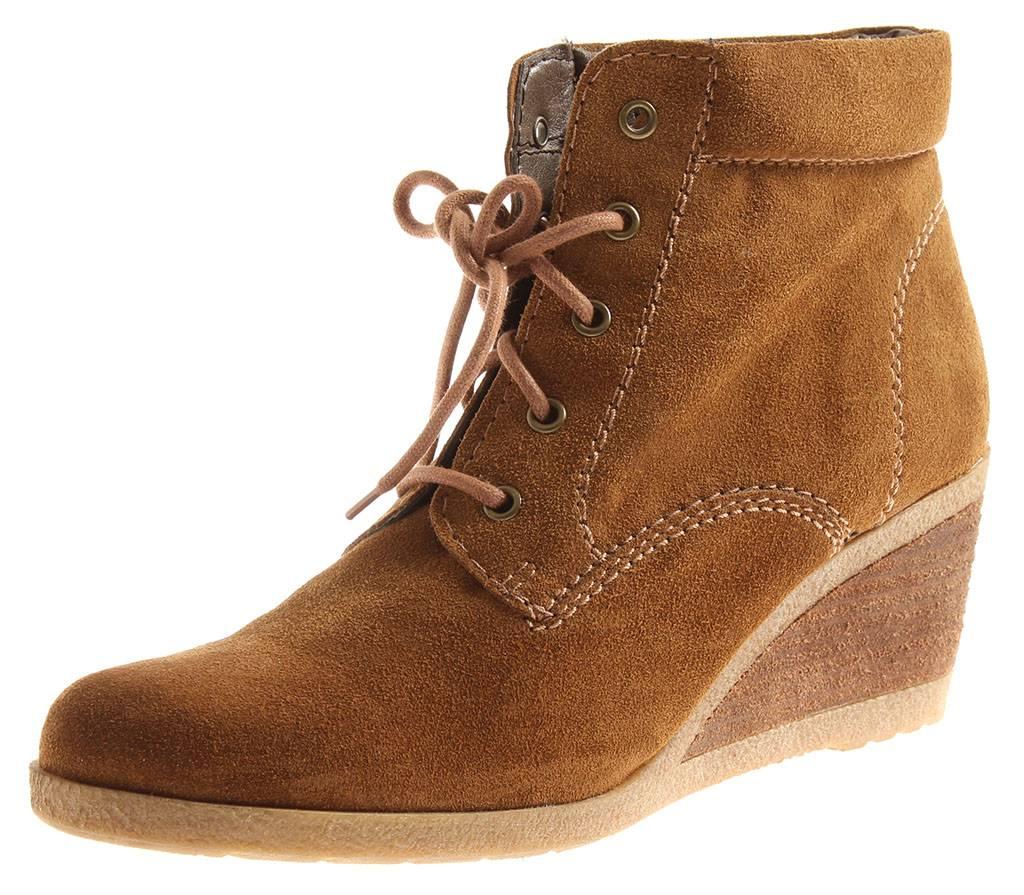 3c76a98d9 Tamaris Mujer Cuña Botines de Cuña Botines Botines de Cuero Zapatos ...