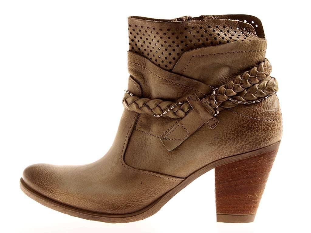 Mjus lederbotasette lederbotasette Stone zapatos de piel señora botín Stone lederbotasette 286326