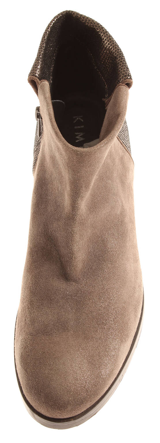 Kimkay Mujer 6862 Botines Reiter-Look de Cuero Reiter-Look Botines Zapatos Piel Wildlede e3b658