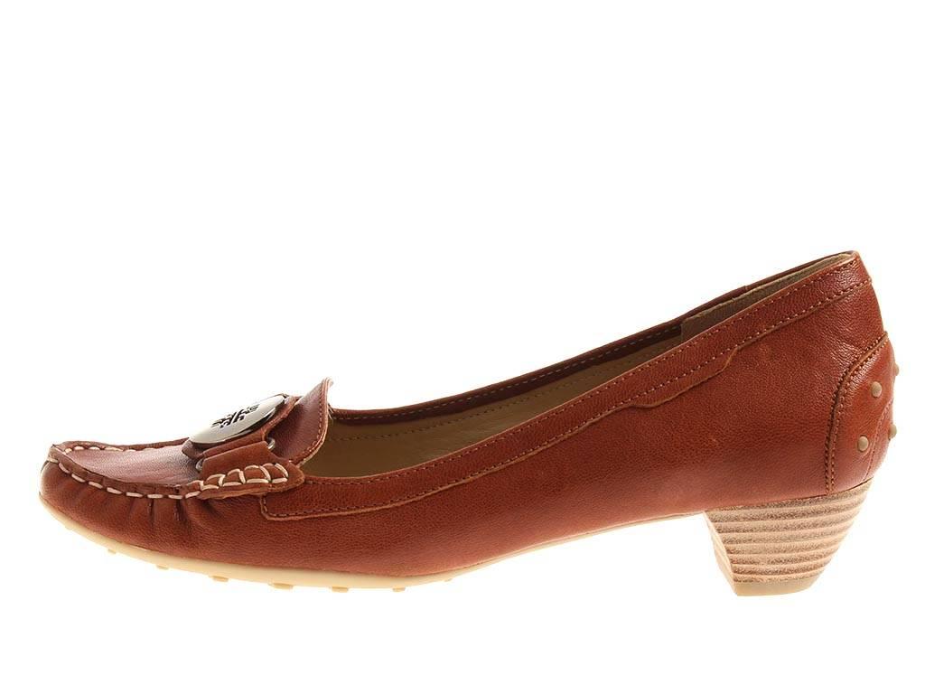 Tacón Bombas Zapatos 7 Cuero Mocasines Mujer De Högl Piel 10 3250Ebay OXPZikuT