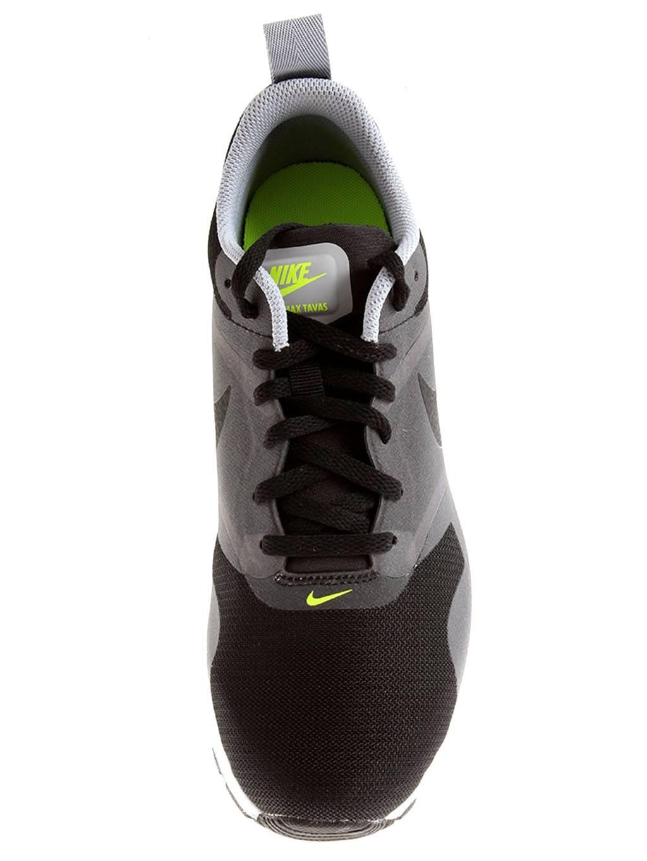 70f8ae2ec8243 Nike Air Max Tavas Zapatillas de Deporte Zapatos Hombre Negro Gris ...