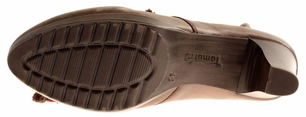 Tamaris Damenschuhe Damen 1-25121 Stiefelette Kurzstiefel Damenschuhe Tamaris Bootie Leder 7099 db0996
