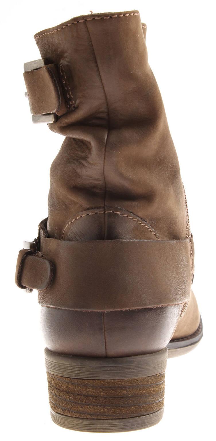Spm Mujer 7170 Botines de Cuero Biker botas botas botas Zapatos Piel botas Lederbotas b23f35