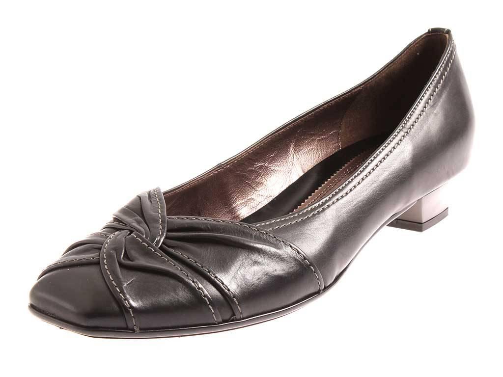 Gabor Damenschuhe schwarz Pumps Leder schwarz Damenschuhe Lederpumps Damen 75.291 a7e283