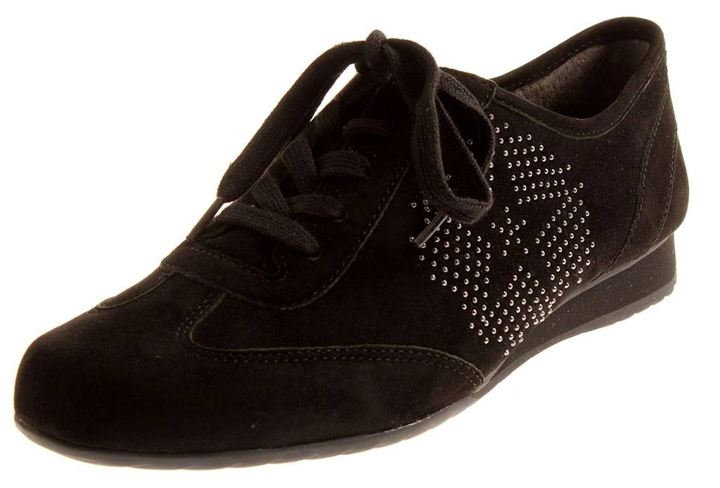 Gabor 76.355 Damen Schnürer Sneaker Sneaker Sneaker Leder Schuhe Einlagen G     762ef2