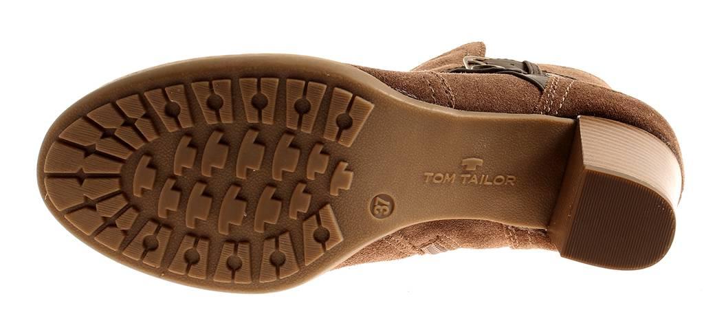 Tom Booty Tailor Damen Lederstiefelette Booty Tom Stiefelette Lederschuhe Winter 7833 34701a
