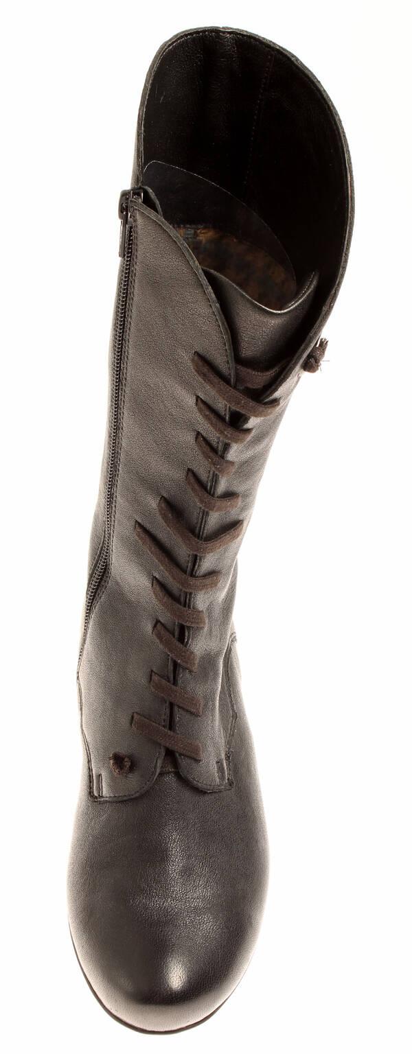 Neupreis großer Abverkauf professionelle Website Details zu Think! 81191-00 warme Lederstiefel Winterschuhe Stiefel für  Damen ausgefallen
