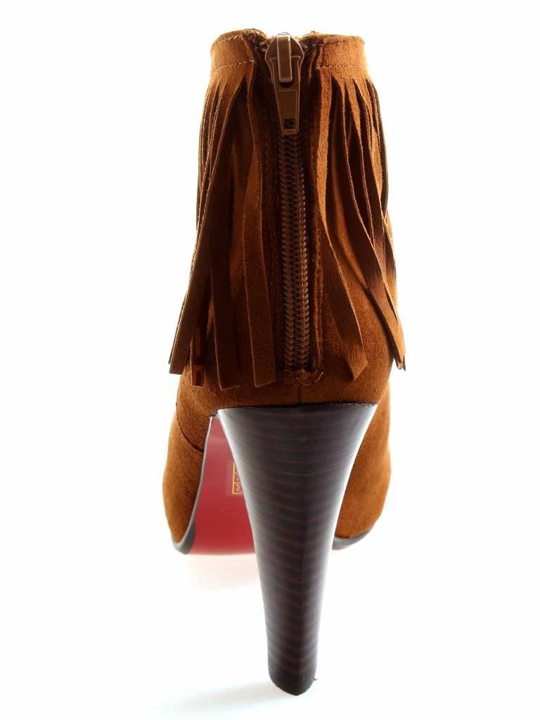 belmondo 826618 m stiefeletten mit fransen ankleboots. Black Bedroom Furniture Sets. Home Design Ideas