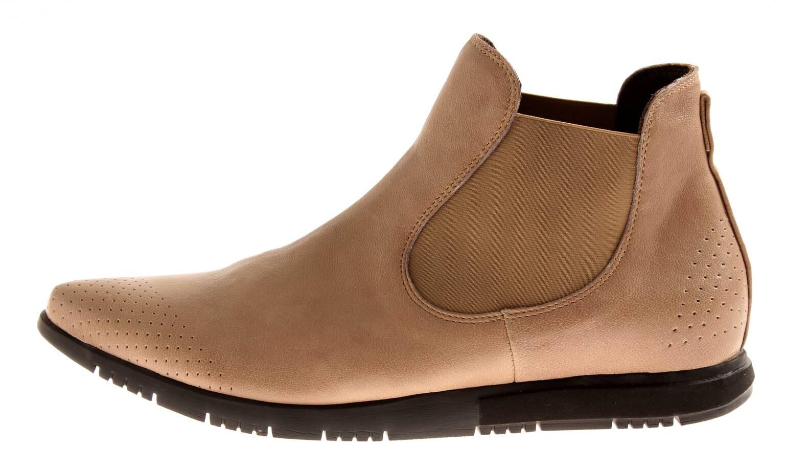 Think Stiefel  84138 klassische Chelsea Stiefel Think Stiefelette Lederschuhe OIWAI 075ef9
