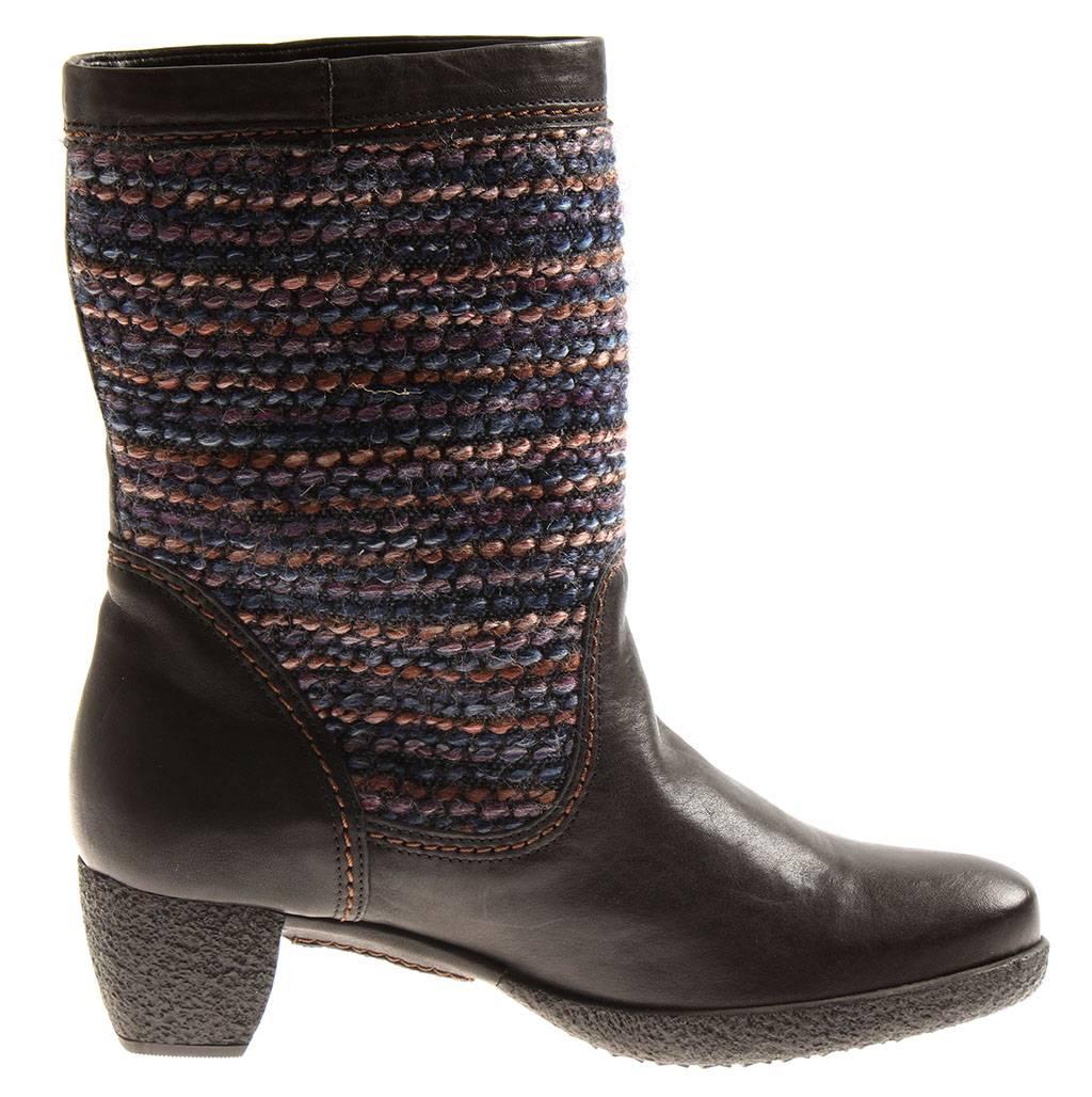 Détails Bottes D'hiver Femmes Bottines Pour Cuir Think5 Laine En 85221 Chaussures Sur kOPiXuZ