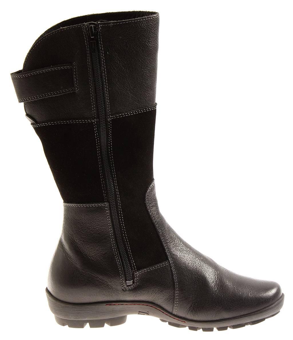 Think  7-87079 inua cálida botas de cuero cuero cuero invierno zapatos botas para señora cordero 83c1ea