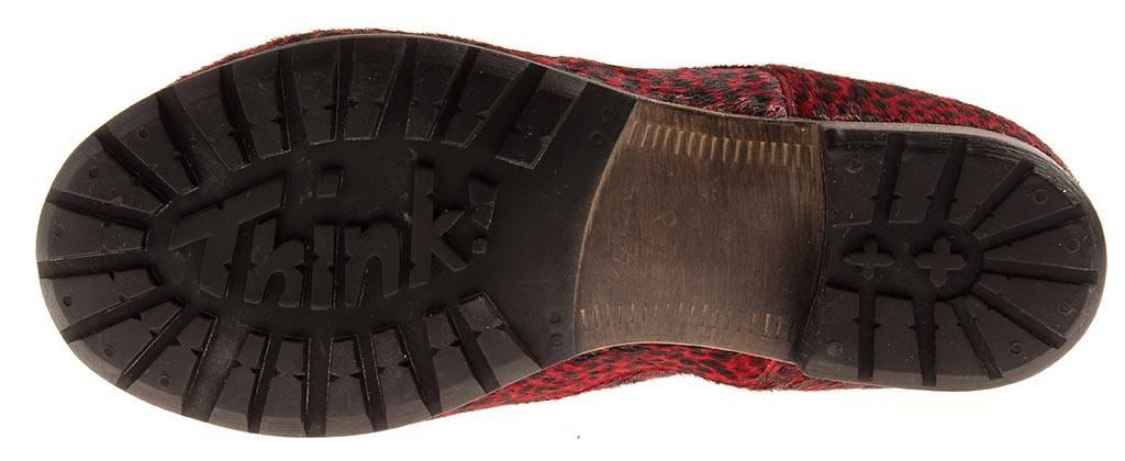 Think  schnürbotaie zapatos de piel SEÑORA Zapatos Cuero botín botín botín cambio plantilla 89 561ba6