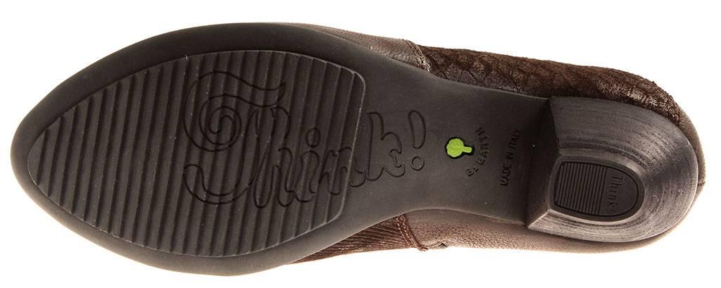 Think  89204 señora botines zapatos de de de piel Zapatos Cuero cambio plantilla 184978